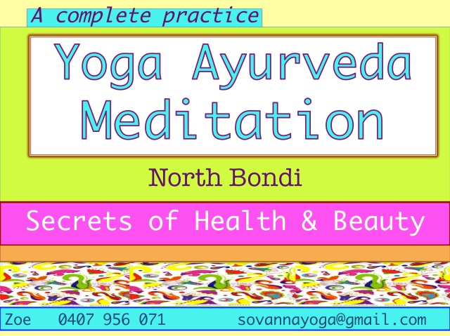 Yoga Ayurveda Meditation fly