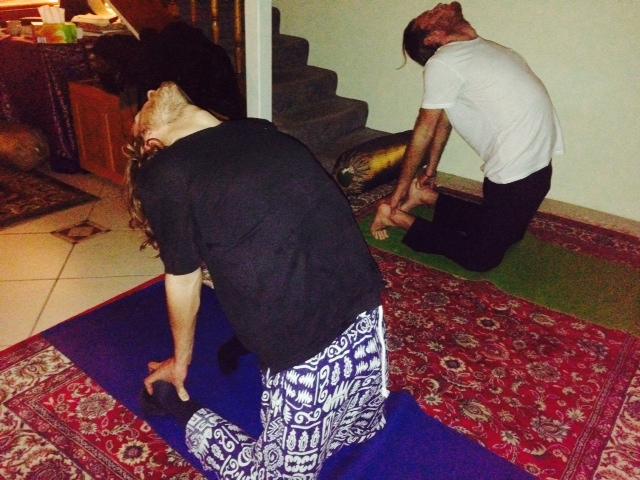 Yoga back bends