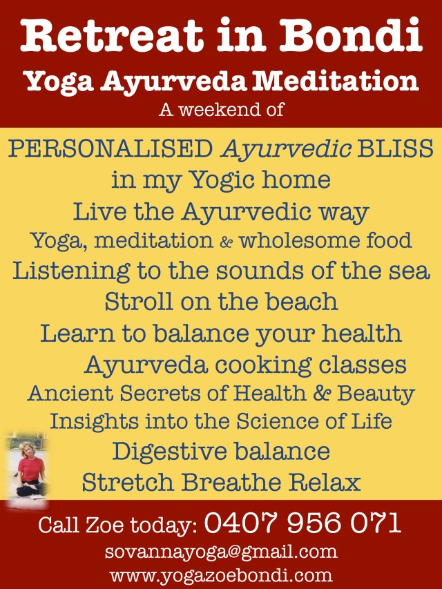 Yoga Ayurveda Retret