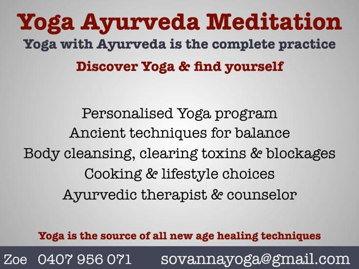 Yoga Ayurveda Class 2
