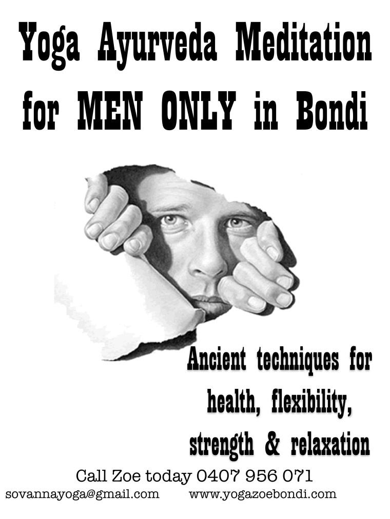 Men ONLY Yoga Ayurveda