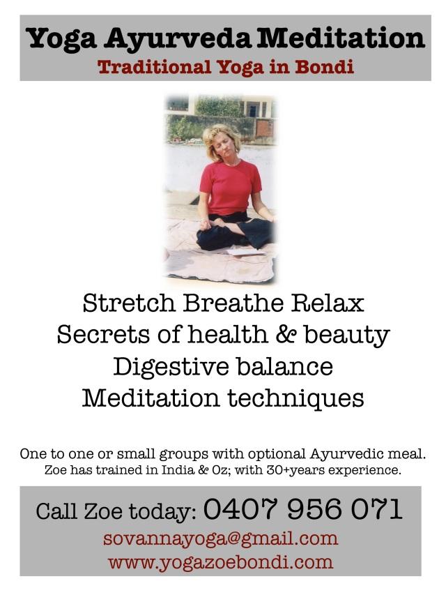Yoga flyer June 2014