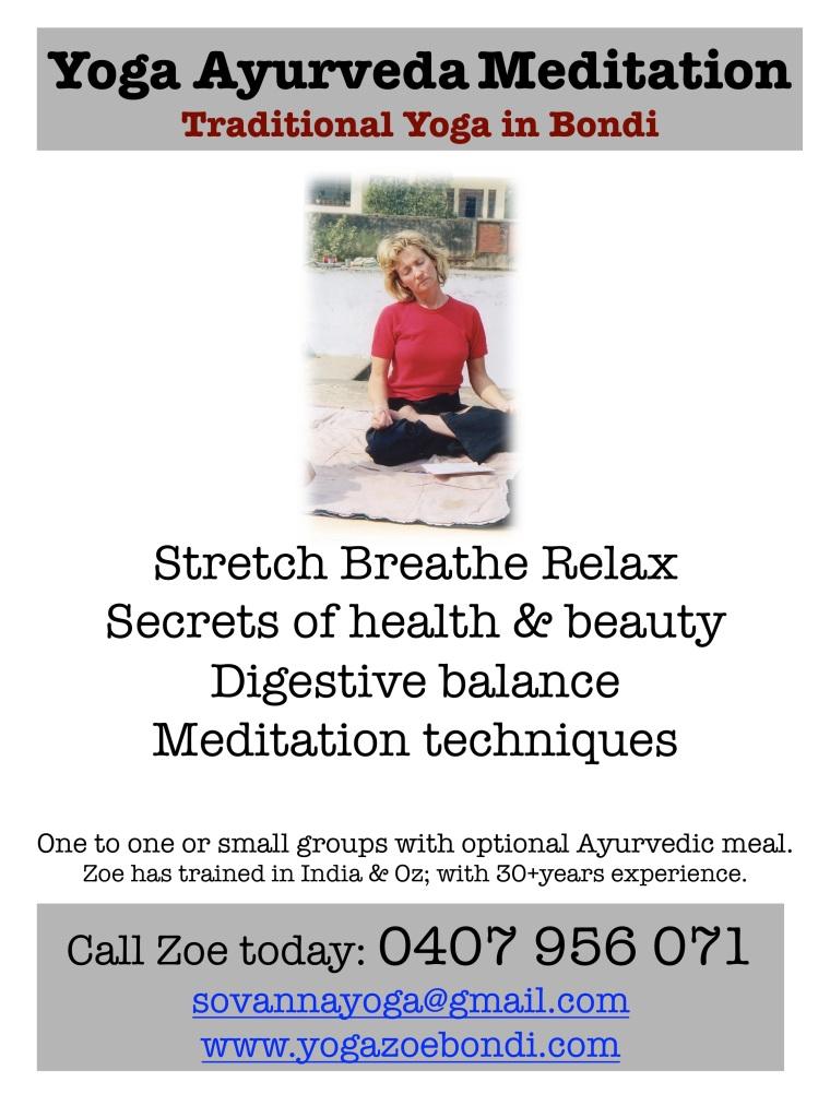 Yoga Ayurveda Meditation